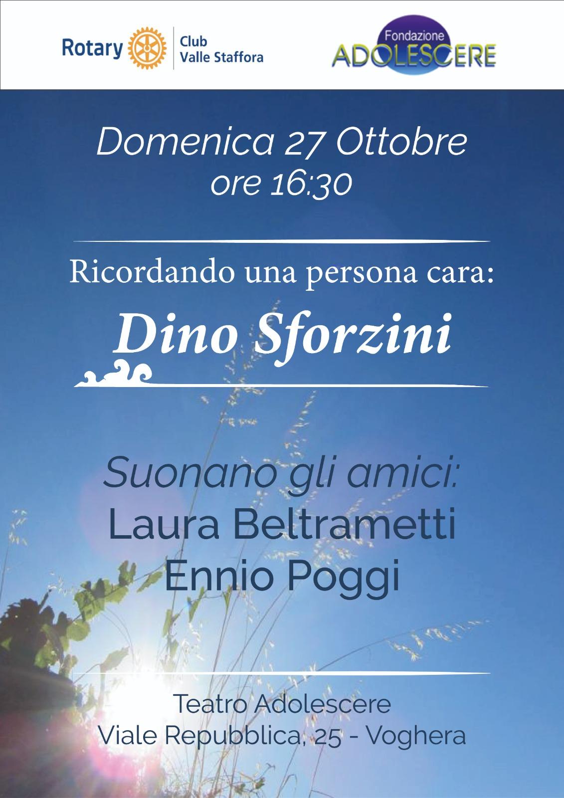 Ricordando Dino Sforzini